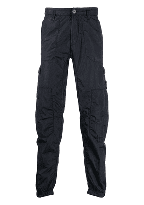 Stone Island tapered cargo pants - Blue