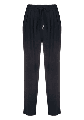 Antonelli pleated drawstring trousers - Blue
