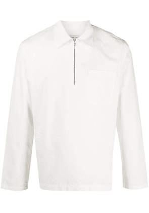 Sandro Paris E20ZIP COTTON - White