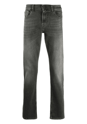 7 For All Mankind Slimmy slim-fit jeans - Grey