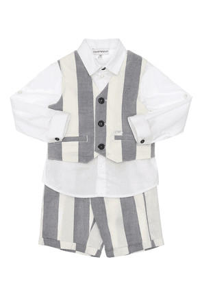 Shirt, Vest & Pants Set