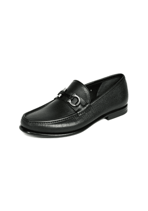 Salvatore Ferragamo Crown Bit Loafers