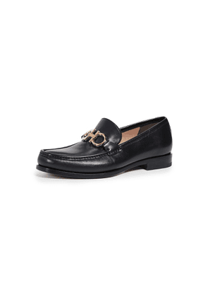 Salvatore Ferragamo Rolo Reversible Bit Loafers