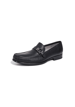 Salvatore Ferragamo Adam Single Side Gancio Loafers