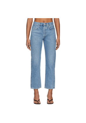 Goldsign Blue The Relaxed Straight Jeans