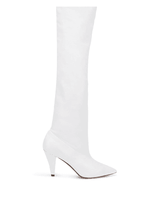 Givenchy over-the-knee boots - White