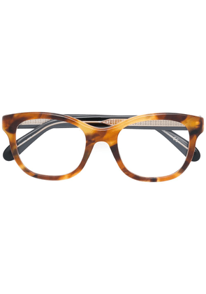 Givenchy Eyewear square frame glasses - Brown