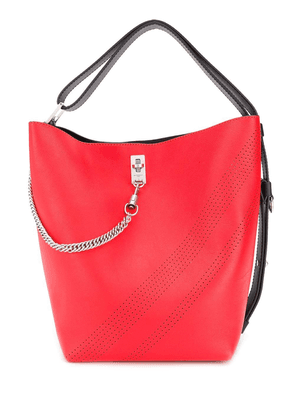 Givenchy two tone bucket bag - Red