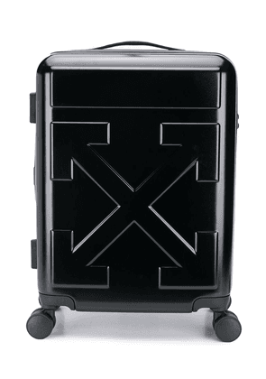 Off-White quote luggage - Black