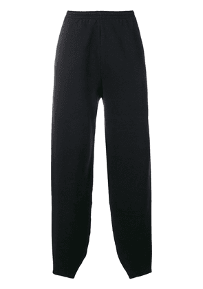 Balenciaga B embroidered track pants - Black