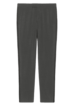 Gucci Heritage straight-leg tailored trousers - Grey