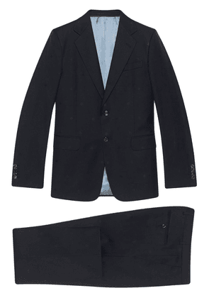 Gucci single-breasted two-piece suit - Blue