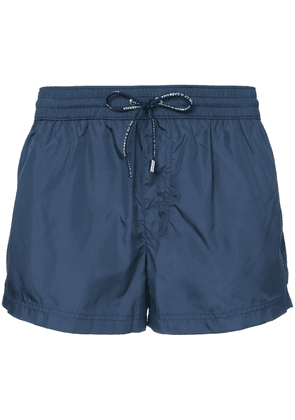 Dolce & Gabbana drawstring fitted swim-shorts - Blue