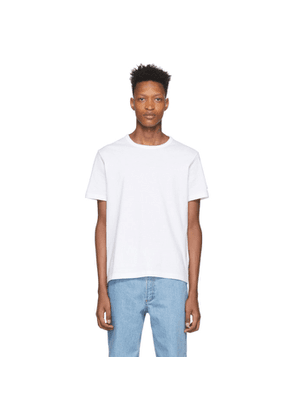 Champion Reverse Weave White Basic T-Shirt