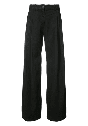 Nili Lotan super flared trousers - Black