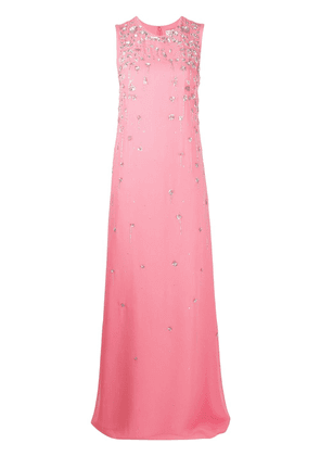 Givenchy sequin embroidered gown - PINK