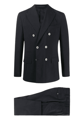 Eleventy double-breasted two-piece suit - Blue