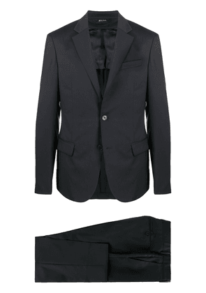 Z Zegna fitted two-piece suit - Blue