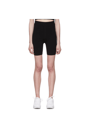 alexanderwang.t Black Foundation Bodycon Bike Shorts