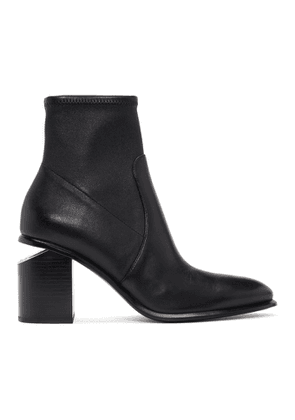 Alexander Wang Black Stretch Anna Boots