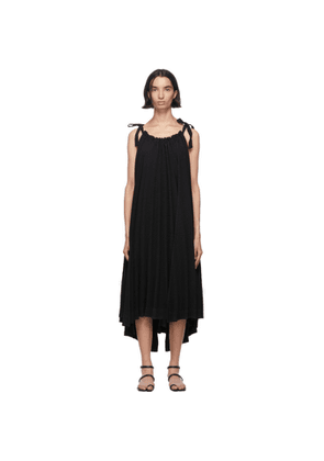 Issey Miyake Black Pleats Panorama Dress