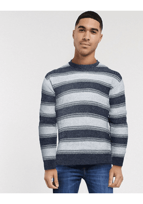 Jack & Jones crew neck jumper-Navy