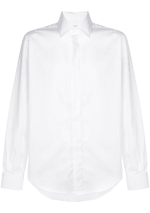 Maison Margiela classic concealed buttons shirt - White