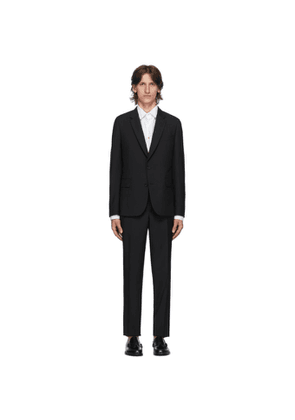 Paul Smith Black Wool Mohair Suit