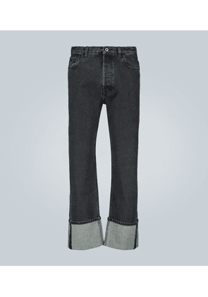 Valentino baggy-fit jeans