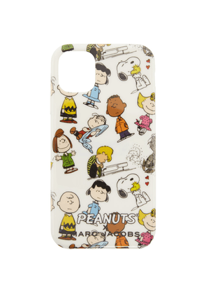 Marc Jacobs White Peanuts Edition iPhone 11 Case