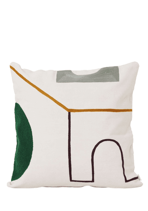 Mirage Gate Cotton Pillow