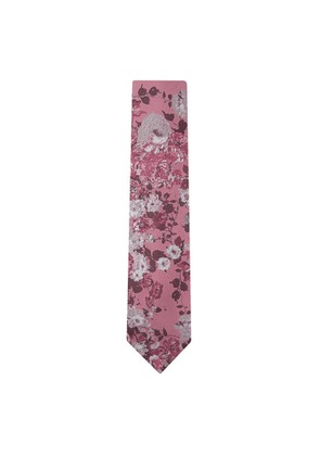 DUCHAMP LONDON California Bouquet Tie Pink