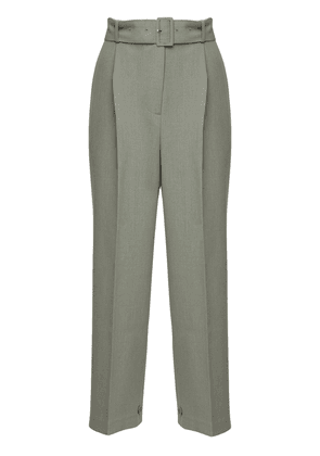 Elvira Crepe Straight Pants