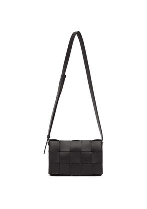Bottega Veneta Black Intrecciato Cassette Bag