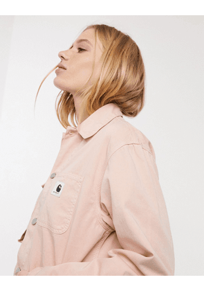 Carhartt WIP utility jacket in light pink