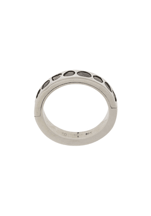 Parts of Four 4mm Sistema Ring - SILVER