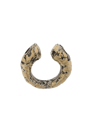 Parts of Four 18kt gold Druid open ring
