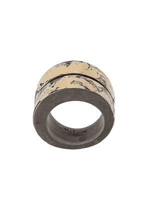 Parts of Four Crevice thick-band ring - GOLD