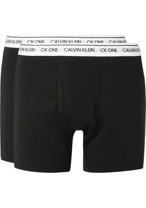 Calvin Klein Underwear - Two-Pack Stretch-Cotton Boxer Briefs - Men - Black