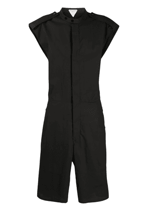 Bottega Veneta technical coated jumpsuit - Black