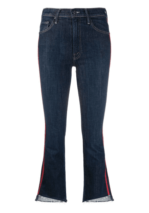 Mother Speed Racer cropped jeans - Blue