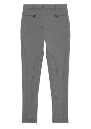 Burberry zip detail trousers - Grey