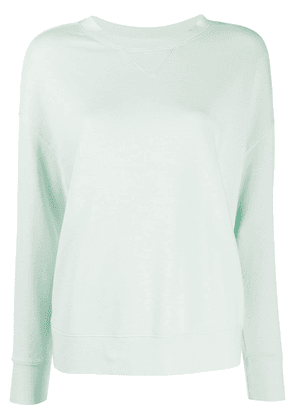 Vince slouchy dropped shoulder sweatshirt - Green