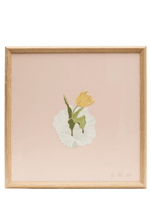 Tulip and Shell Framed Artwork