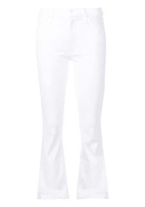 Mother Inside mid-rise slim jeans - White