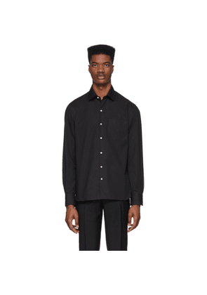 Eidos Black Single Pocket Shirt