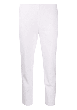 Polo Ralph Lauren slim-fit cropped trousers - White
