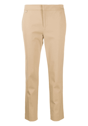 Polo Ralph Lauren slim-fit cropped trousers - NEUTRALS
