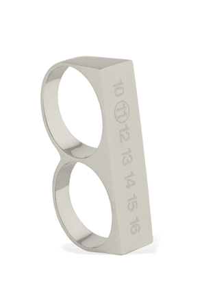 Engraved Logo Double Thick Ring
