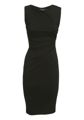 Sleeveless Ruched Stretch Jersey Dress
